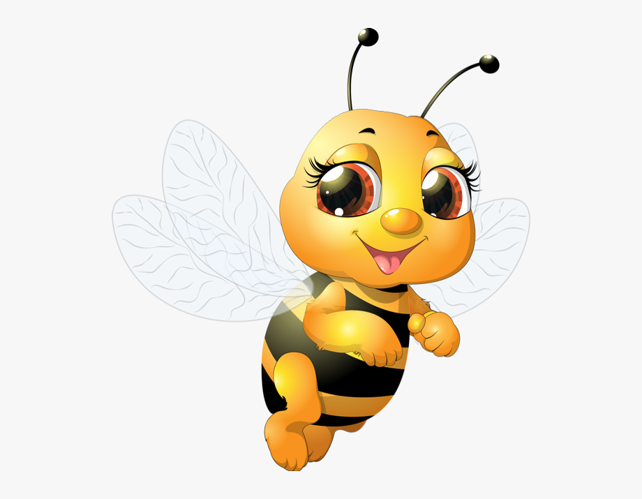 Funny Bee Clipart.