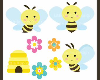 Baby bumble bee clipart » Clipart Station.