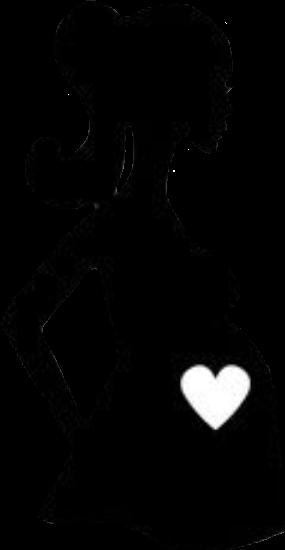 pregnant pregnancy babybump silhouette.