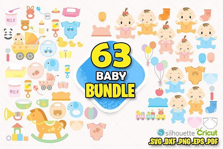 Baby bundle clipart cute baby pink toys baby toy clipart png.