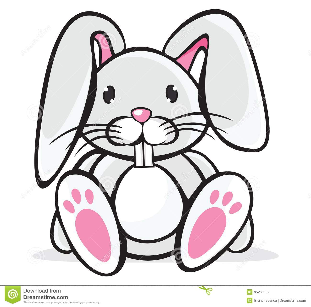 Rabbit Clipart Cute.