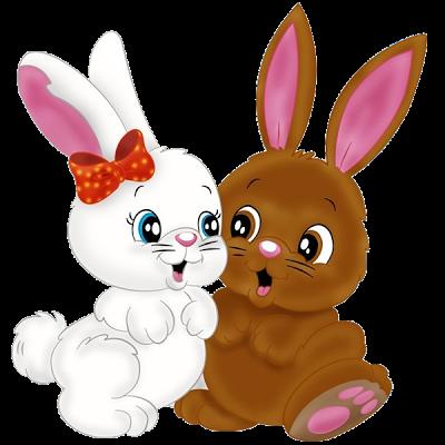 Rabbit clipart simple cartoon #31.