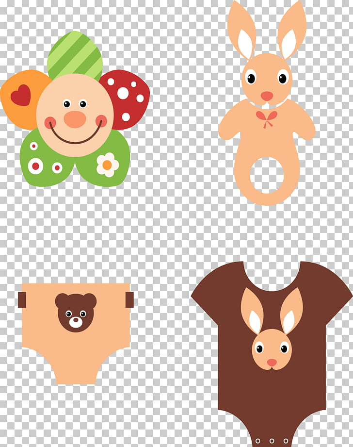 Infant Pacifier Baby transport , Cute style baby clothes PNG.