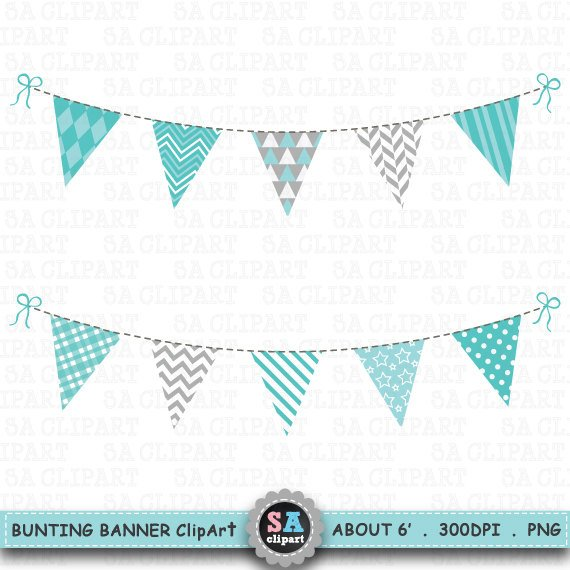 Bunting Banner Clipart,\