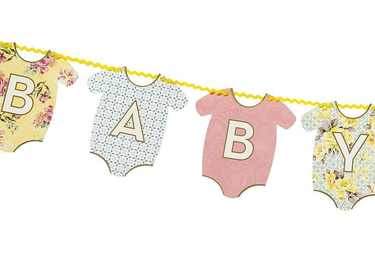 Truly Baby Shower Bunting.