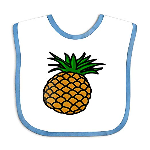 Amazon.com: Bib And Burp Cloth Set Boys And Girls Pineapple.