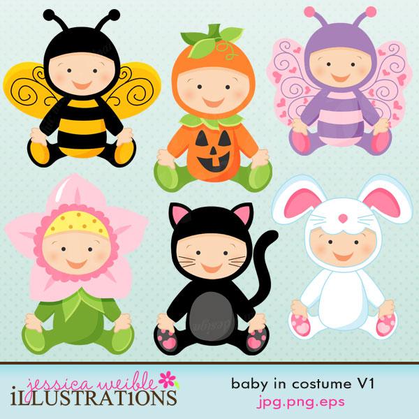 Baby In Costume V1.