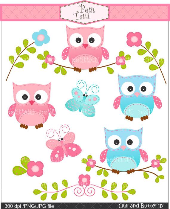 cute clipart,; owl clipart.
