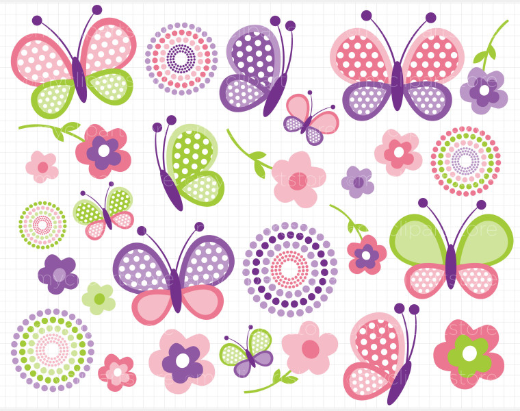 Related Keywords & Suggestions for Purple Baby Butterfly Clipart.