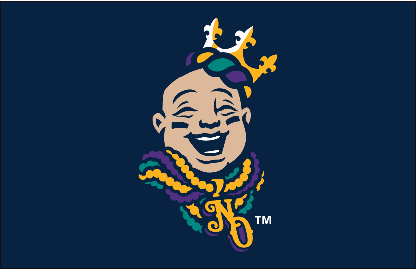 New Orleans Baby Cakes Cap Logo.