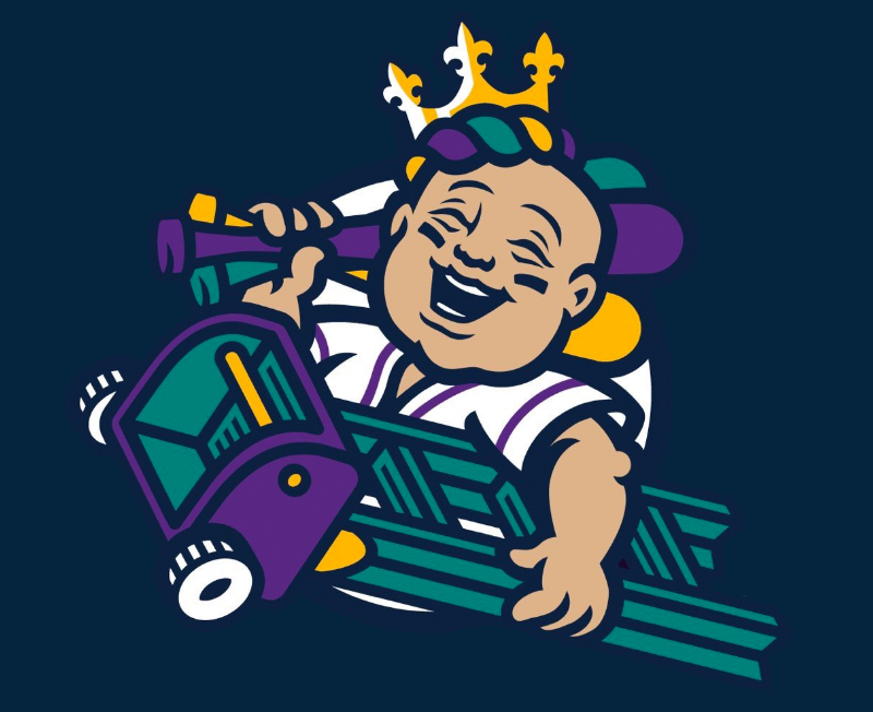 Sweet New Logo: The Story Behind the New Orleans Baby Cakes.