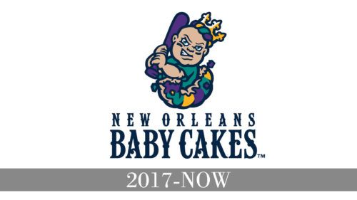 New Orleans Baby Cakes Logo history.