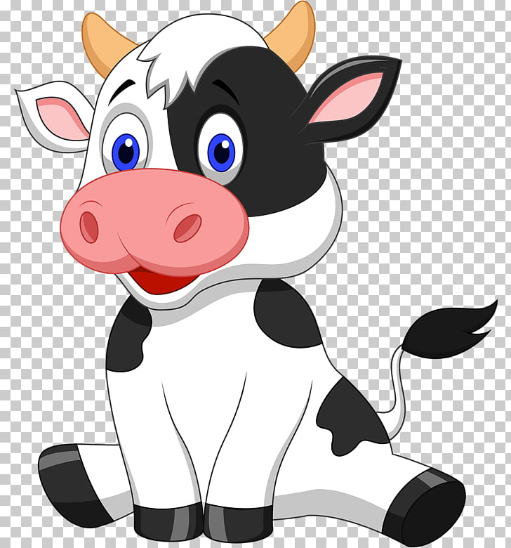 Baka Drawing Calf, Baby cow PNG clipart.