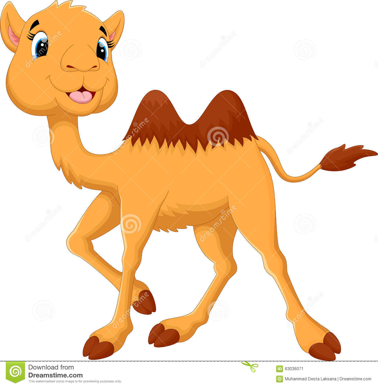 Baby Camel Clipart.