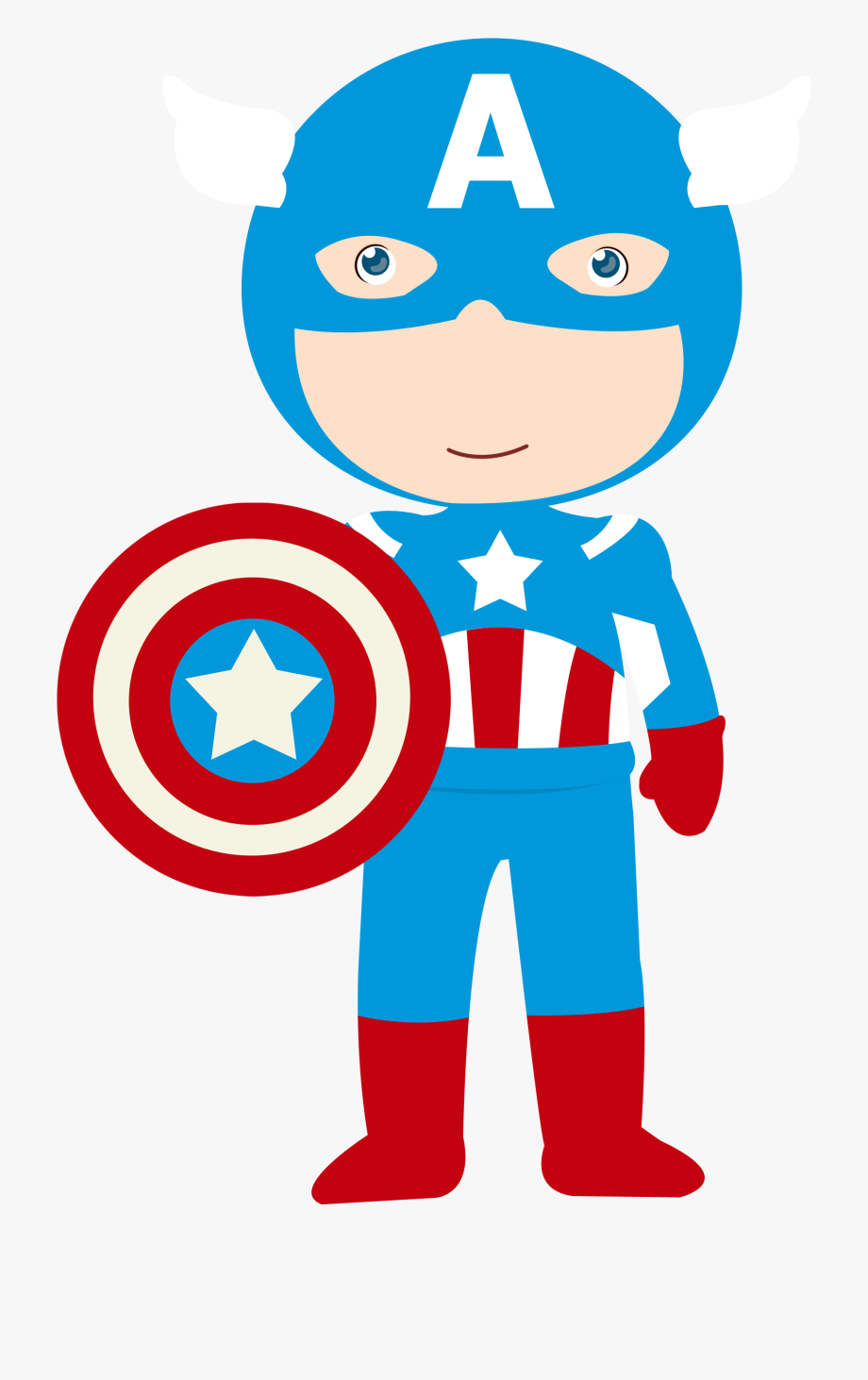 Captain America Baby Png, Cliparts & Cartoons.