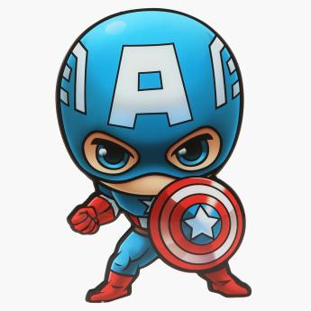 3D Deco Light Mini Captain America with Wall Sticker.