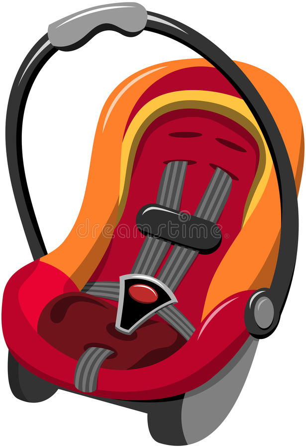 Baby Car Seat Stock Illustrations.