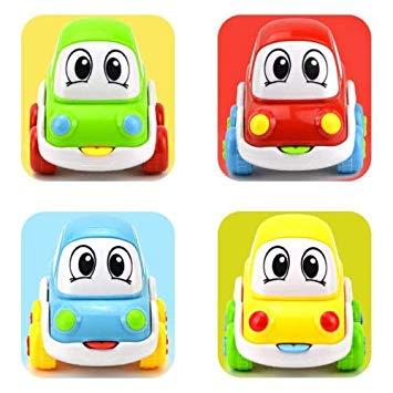 Amazon.com: 6PCS Cute Cartoon Smiling Face Inertial Car Taxi.