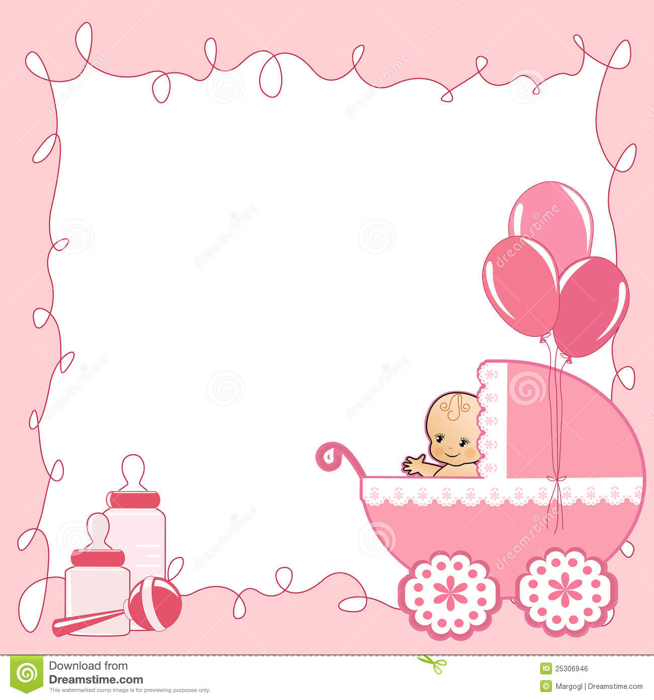 Baby card clipart 5 » Clipart Station.