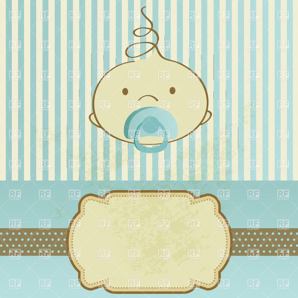 Baby card clipart 9 » Clipart Station.