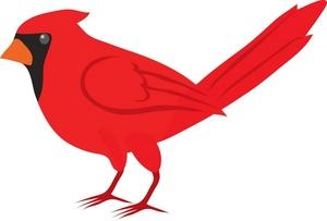 Cute Cardinal Clipart.