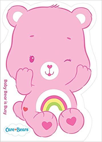 Baby Cheer Bear: Shaped Board Book 3 (Care Bears): Amazon.co.