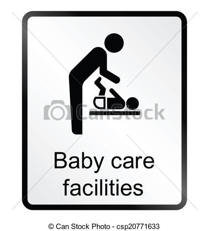 Vectors of Baby Care Facilities Information Si.