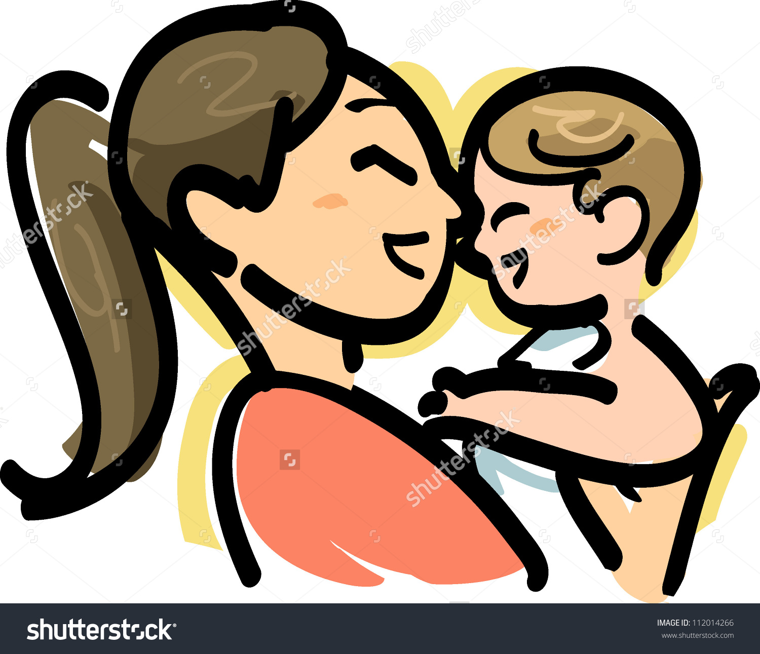 Baby care clipart.