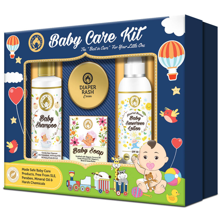 Mom & World Baby Care Collection Gift Pack.