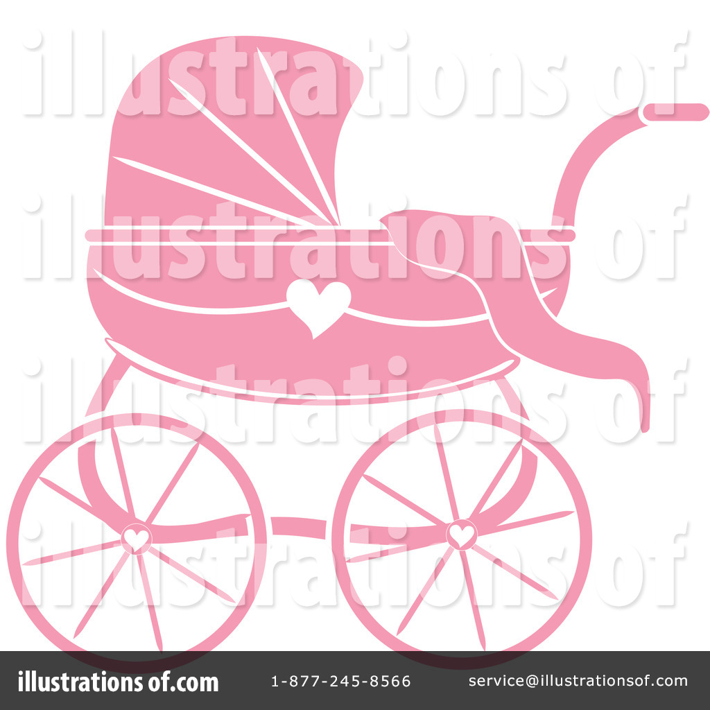 Baby Carriage Clipart #1056069.