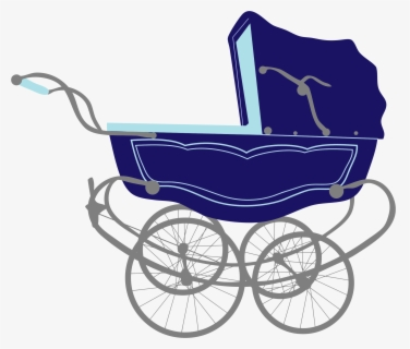 Free Baby Stroller Clip Art with No Background.