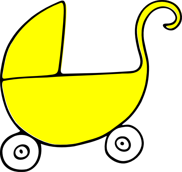 Baby Carriage Stroller Clip Art at Clker.com.