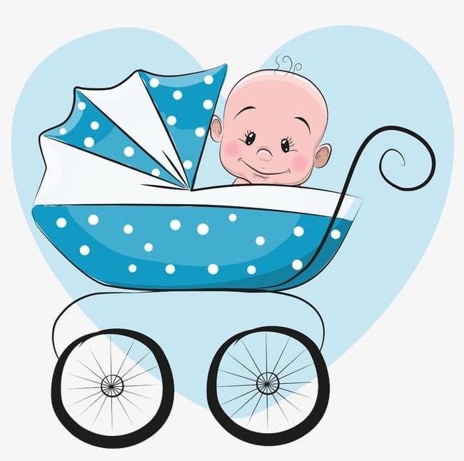 Blue Baby Stroller Sitting PNG, Clipart, Baby, Baby Clipart.