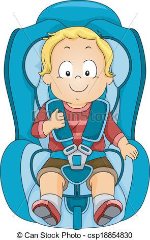 Clipart Car Seat.