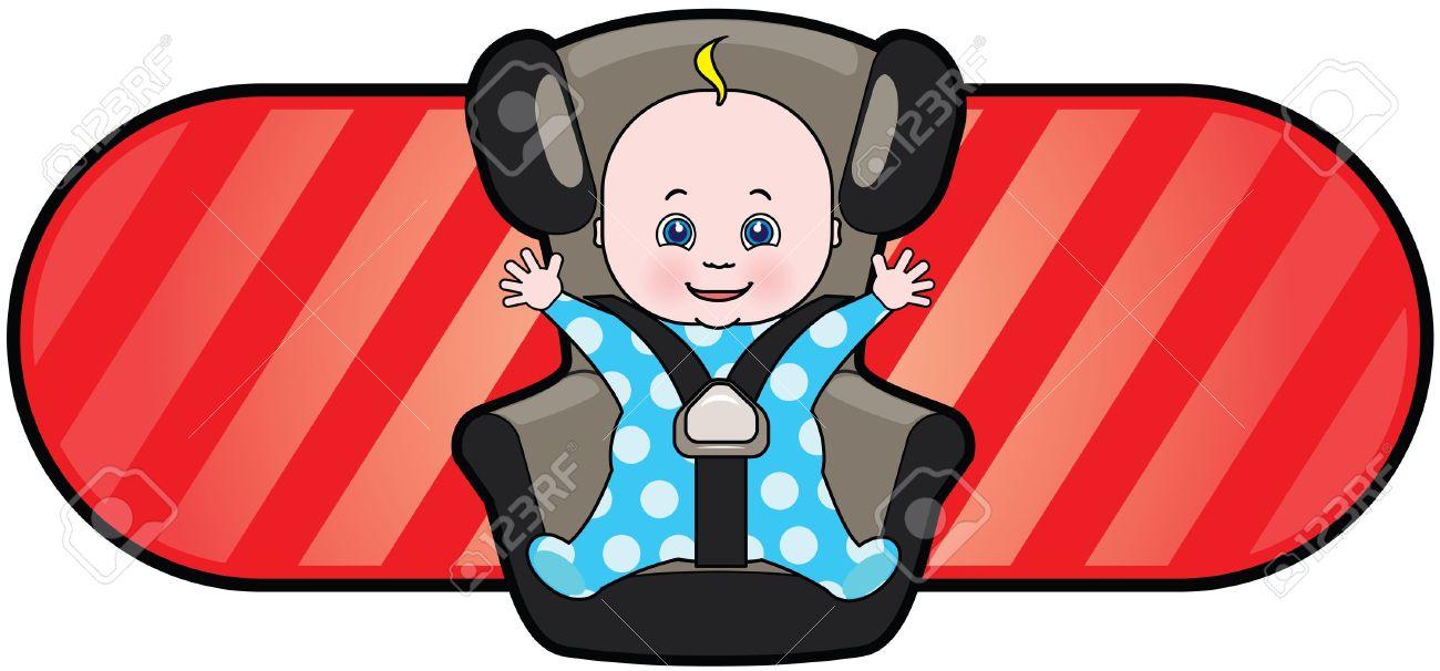 Car Seat Clipart.