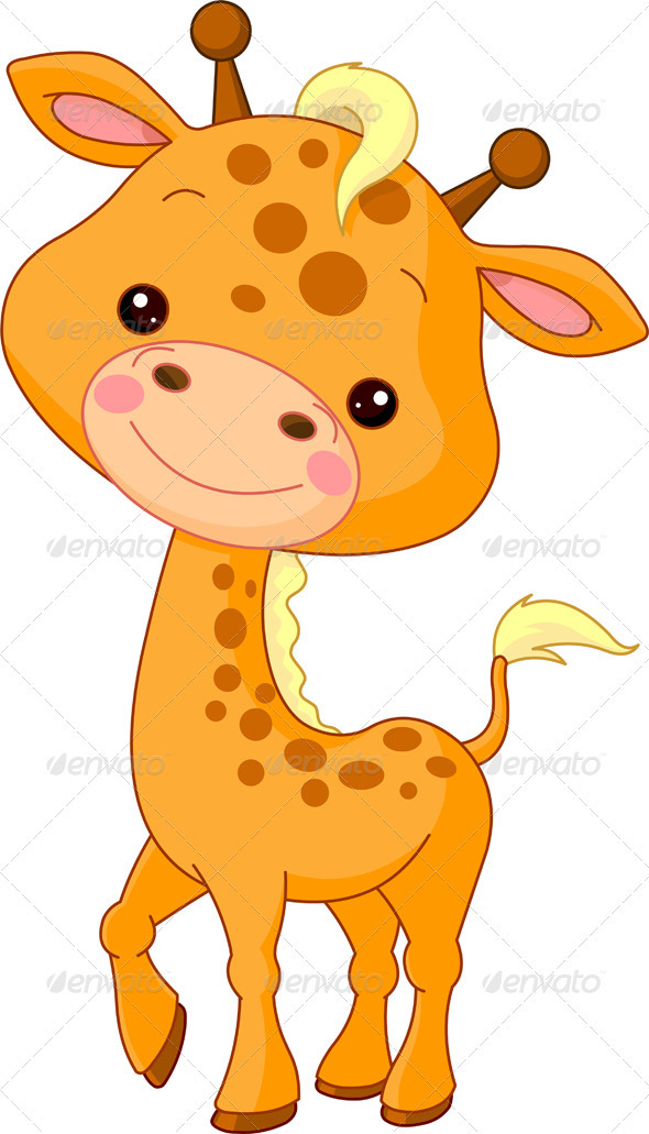 giraffe cartoon baby.