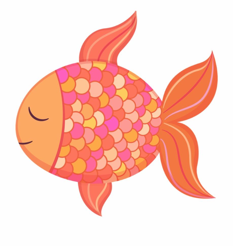 Goldfish Clipart Baby Cute Clip Art Fish.