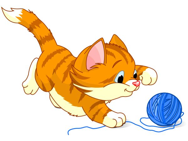 3420 Cats free clipart.