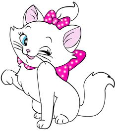 Cute Baby Cats Clip Art.