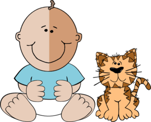 Baby cat clipart download.