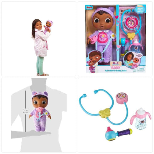 Details about 5 Year Old Girl Toys 6 7 Cool For Girls Age Doc Mcstuffins  Adorable Baby Doll.