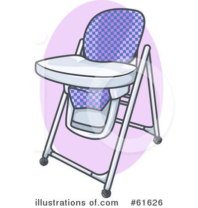 High Chair Clipart #61626.