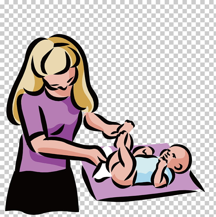 Diaper Infant Child Changing table , Rub the body to the.
