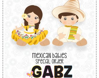 Fiesta clipart baby mexican.