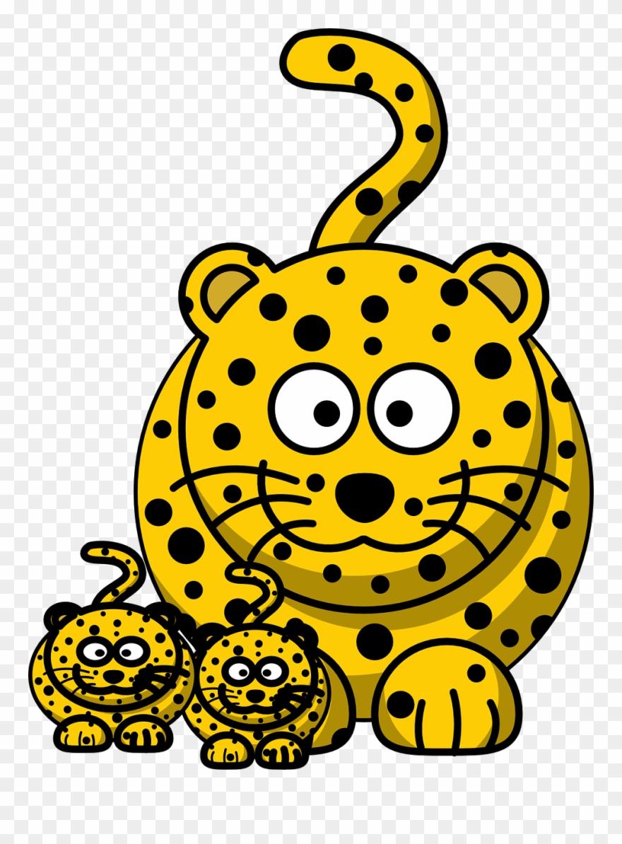 Leopard, Cheetah, Hunting.