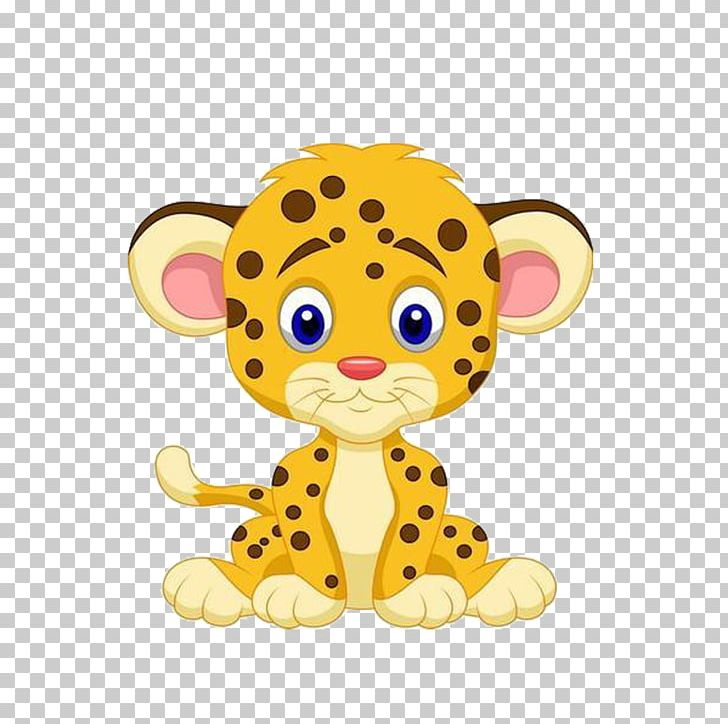 Leopard Cheetah Cartoon Drawing PNG, Clipart, Animal.