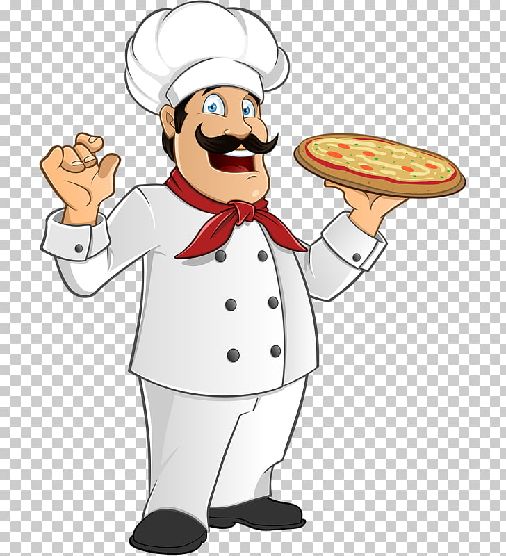 Italian cuisine Pizza Chef, baby feast PNG clipart.