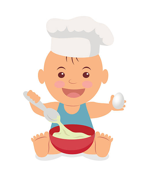 Baby Chef Clipart.