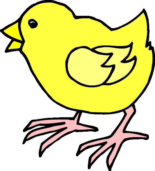 Cartoon Baby Chick Clip Art at Clker.com.