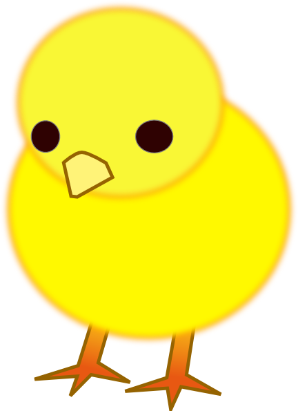 Cute Baby Chick Printable.